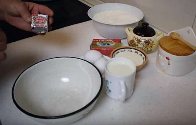 Булочки с корицей и изюмом - ингредиенты