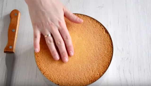 Бисквитный торт готов