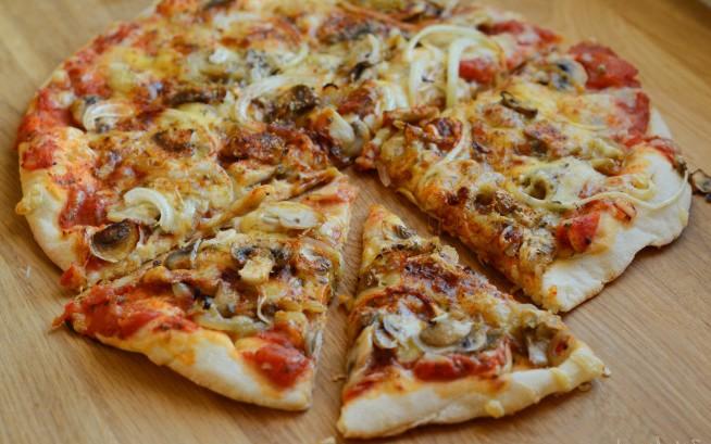 пицца грибная рецепт в домашних условиях