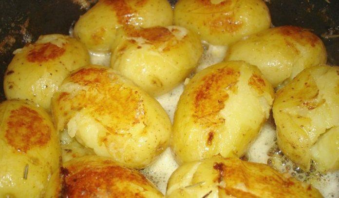 По нашему рецепту картошечка будет просто таять во рту