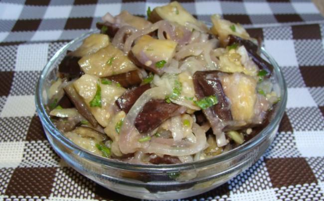 Баклажаны как грибы - отличная закуска
