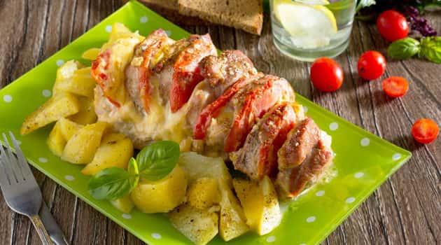 Карбонад свиной рецепт в духовке гармошкой