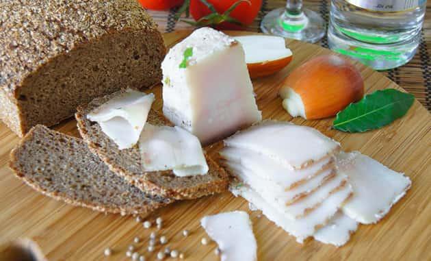 Соленое сало с чесноком рецепт в банке