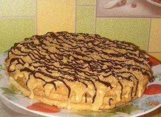 Простой торт на скорую руку - дешевый рецепт