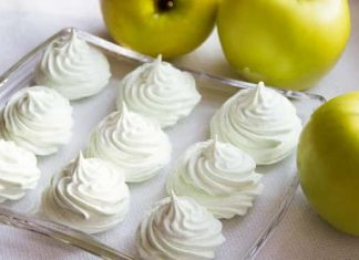Зефир с яблоками в домашних условиях
