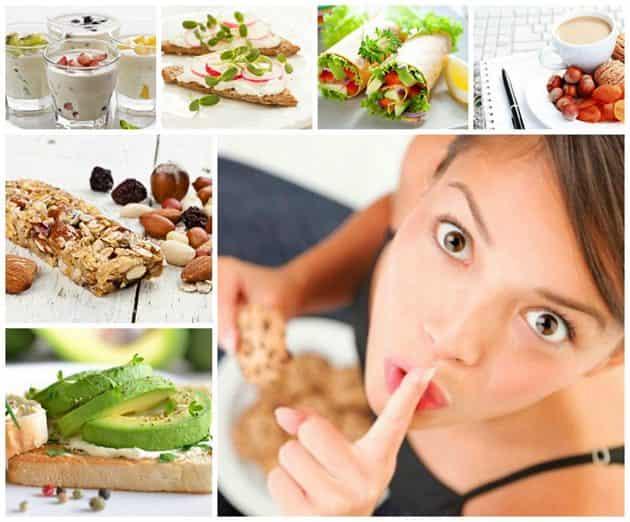 Рецепты здорового питания для похудения: вариант №1