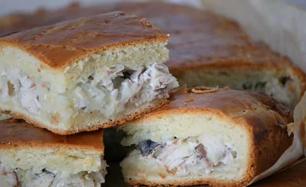 Простой рецепт приготовления рыбного пирога