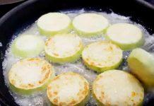 Рецепт приготовления кабачков в кляре на сковороде с сыром и чесноком