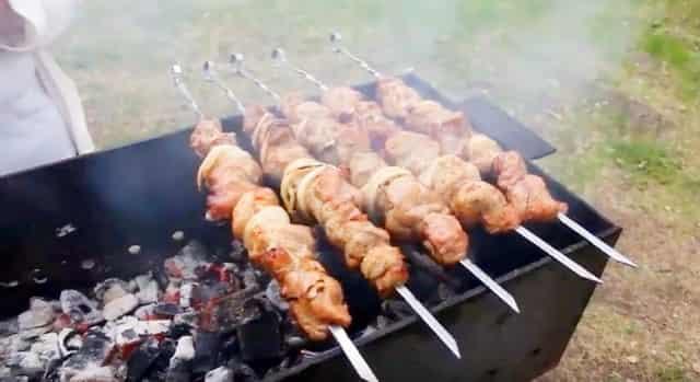 Маринад для шашлыка из свинины на уксусе и на кефире