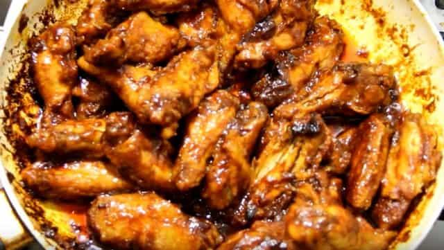 Невероятно вкусные карамельные куриные крылышки