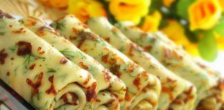 Вкусненькие сырные блинчики для деток