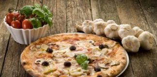 «Каприччиоза» — пицца с шампиньонами