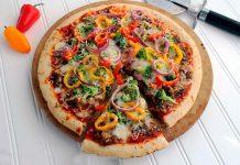 Пицца Вегетарианская отличный рецепт