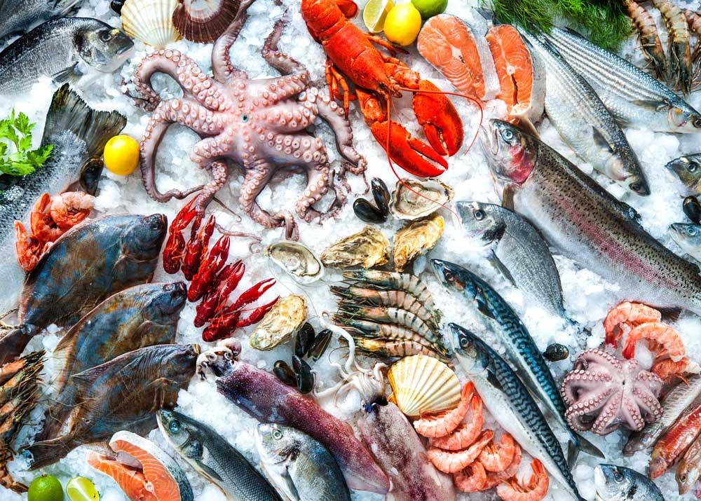 Свежемороженой рыбы и морепродуктов в Санкт-Петербурге